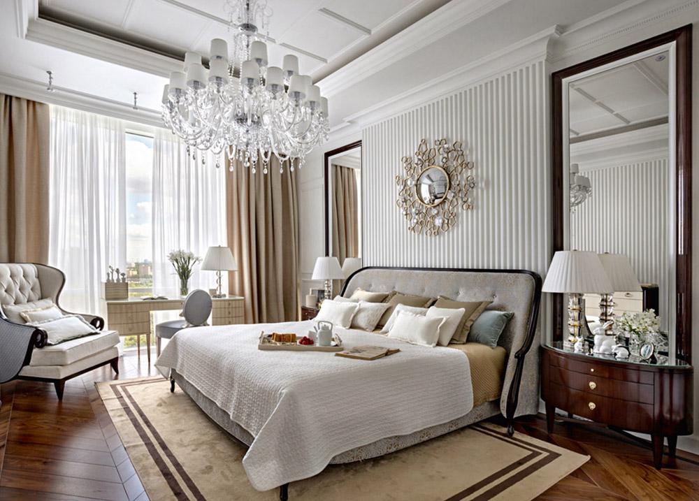 шторы в светлую спальню