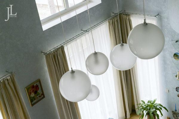 Дизайн штор для гостиной.