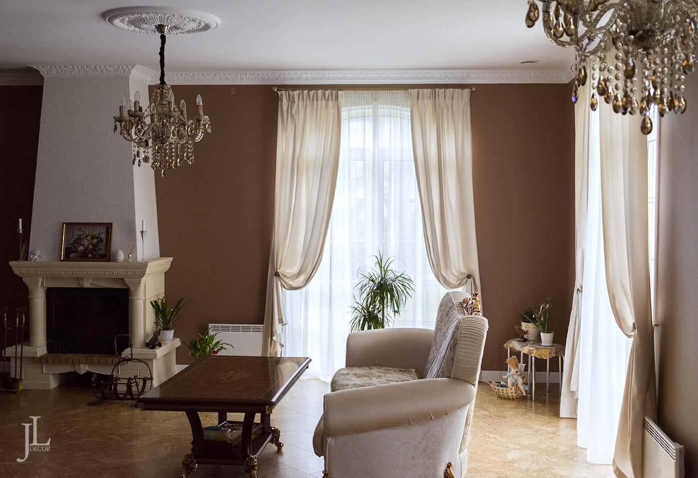 дизайн штор в доме