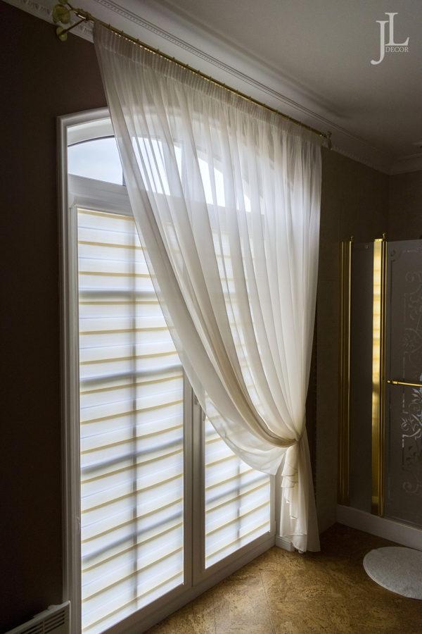 дизайн штор для сан.узла в частном доме