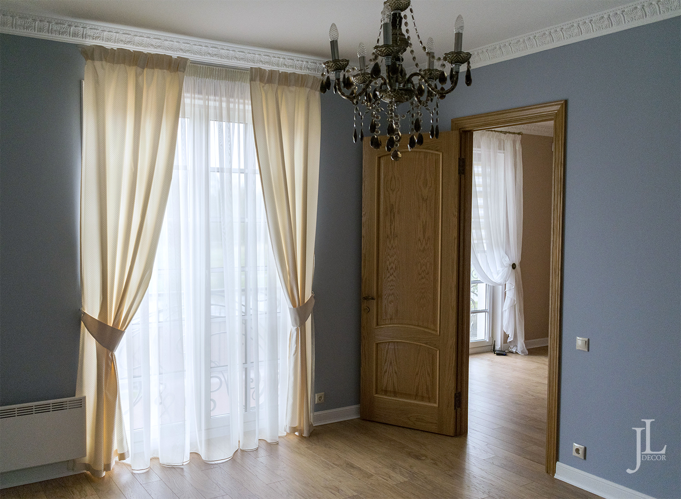 дизайн штор в доме фото