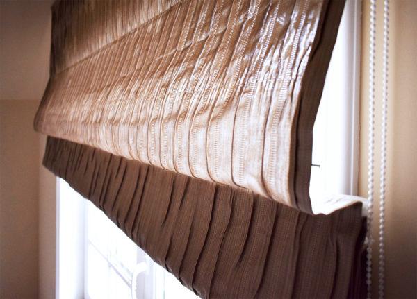 Римские шторы в доме