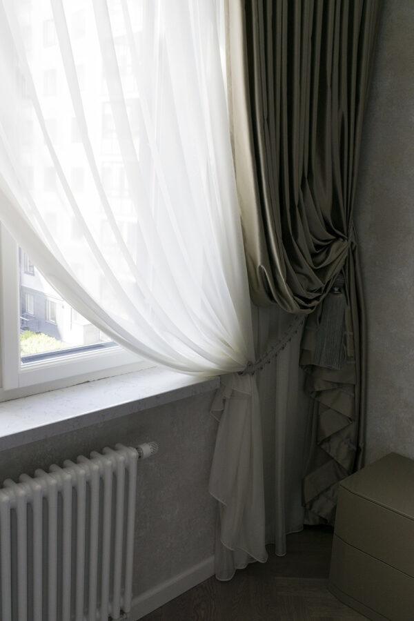 Классические шторы.