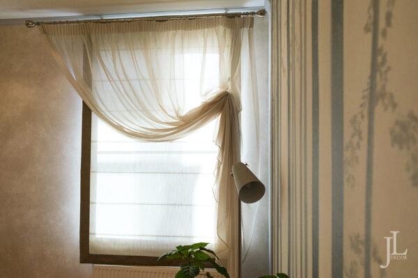 Красивые шторы в интерьере.