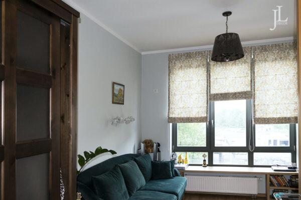 Современные шторы в интерьере