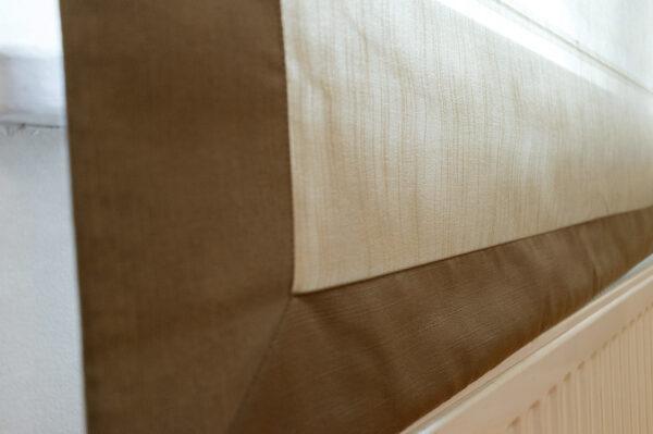 Красивые римские шторы в интерьере.