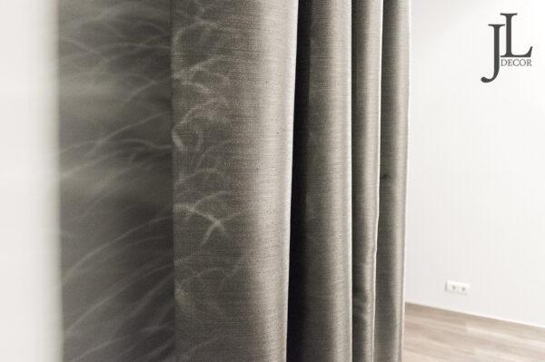 Чёрные портьеры в современном интерьере • jl-decor.com